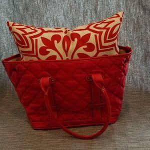 Quilted J Crew Handbag